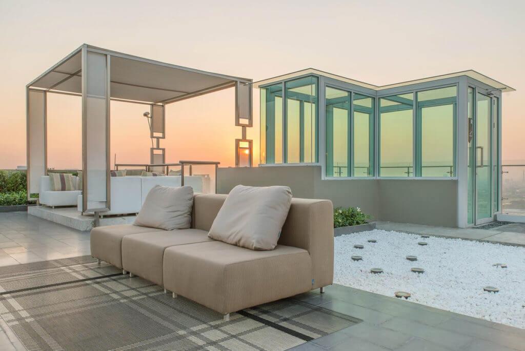 Terrassenüberdachung freistehend mit edlem Design