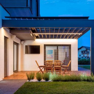 LED Beleuchtung <br>für die Terrasse