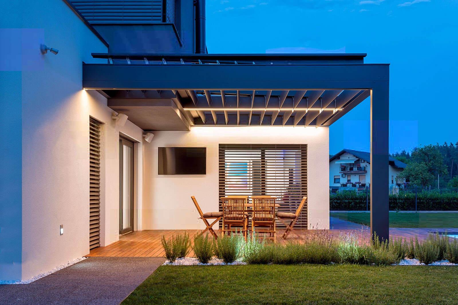 Led Beleuchtung Als Stimmungsmacher Auf Ihrer Terrasse