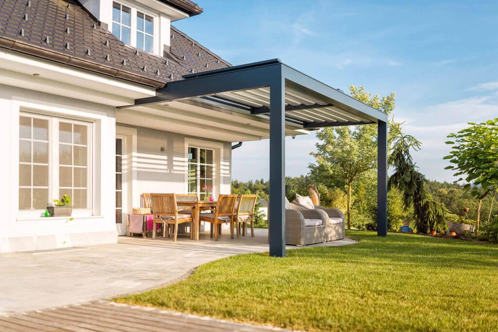 Gut bekannt Die Lamellen-Terrassenüberdachung als unser elegantes Premiumprodukt! DM01