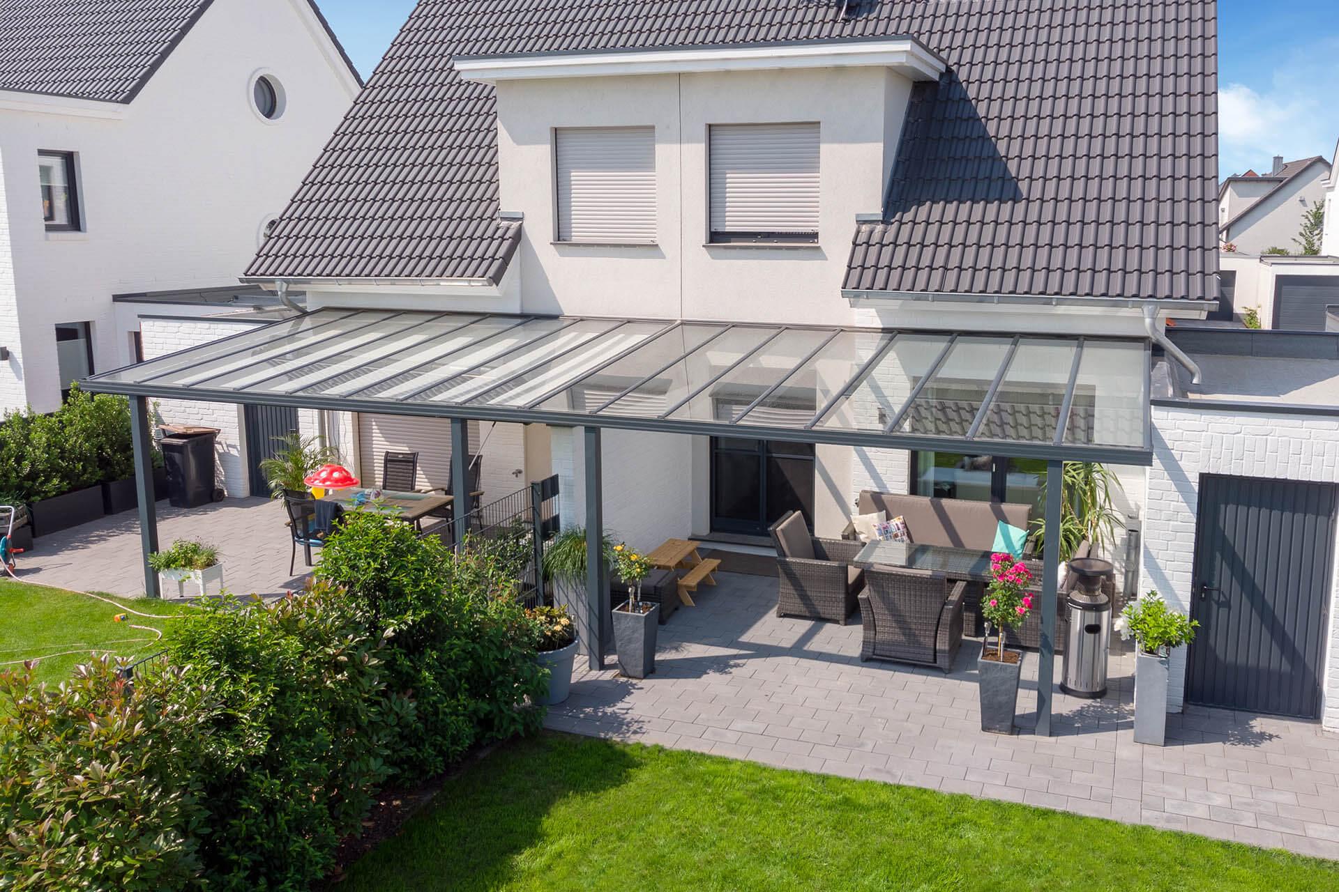 Favorit Reihenhaus und Terrassenüberdachung - darauf gilt es zu achten KL08